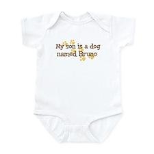 Son named Bruno Infant Bodysuit