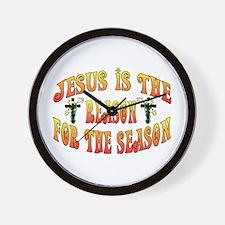 Reason For Easter Season Wall Clock