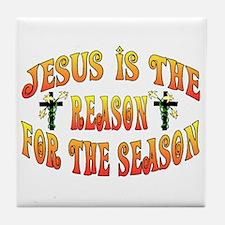 Reason For Easter Season Tile Coaster