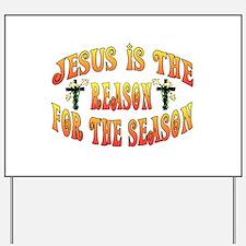 Reason For Easter Season Yard Sign