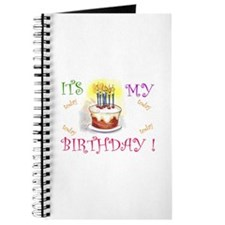 Its My Birthday! Journal