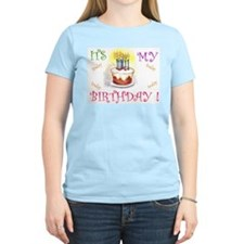 Its My Birthday! Women's Pink T-Shirt