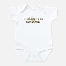 Daughter named Cookie Infant Bodysuit