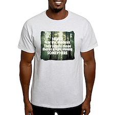 Never Fear The Shadows - Faith T-Shirt