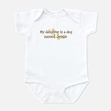 Daughter named Jessie Infant Bodysuit