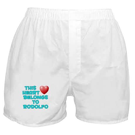 This Heart: Rodolfo (E) Boxer Shorts