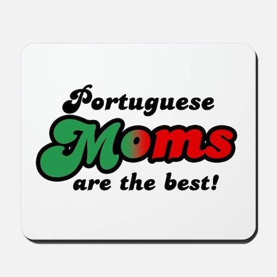 Portuguese Mom Mousepad