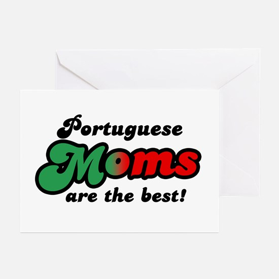 Portuguese Mom Greeting Cards (Pk of 10)