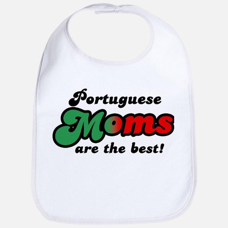Portuguese Mom Bib