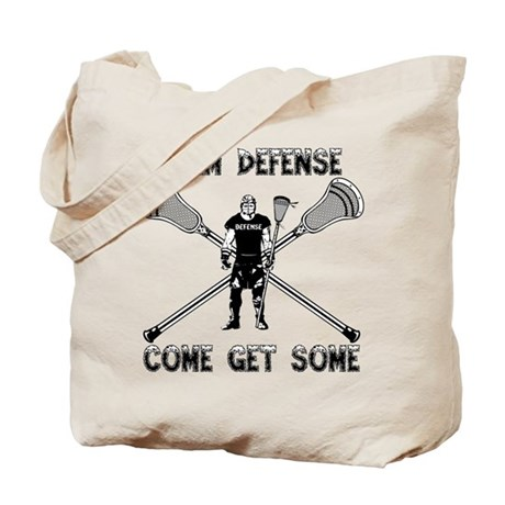 Lacrosse Defense GETSOME Tote Bag