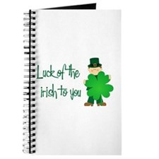 Luck of The Irish To You Journal