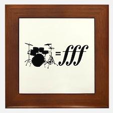 Drums = FFF Framed Tile