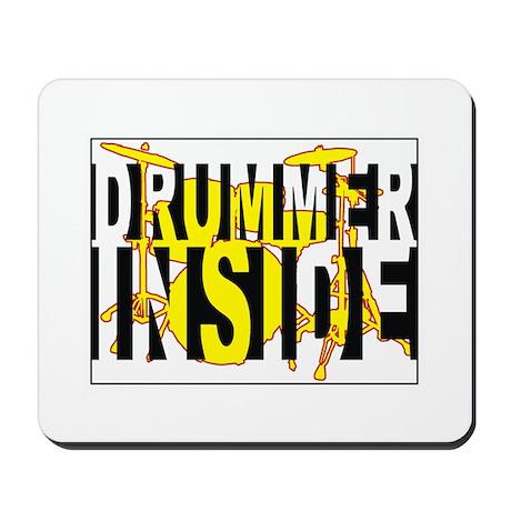 Drummer Inside Mousepad