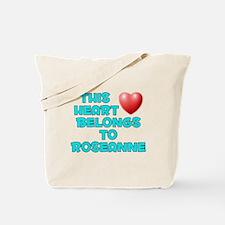 This Heart: Roseanne (E) Tote Bag