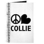 Peace Love Collie Journal