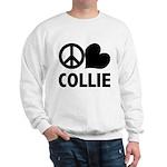 Peace Love Collie Sweatshirt