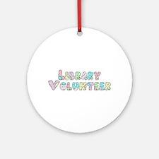 Volunteer Patchwork Ornament (Round)