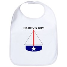 Daddy's Boy Sailboat Bib
