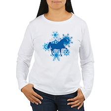 Hackney Snowflakes Holiday T-Shirt