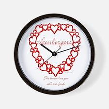 Leonberger True Wall Clock