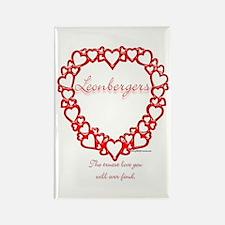 Leonberger True Rectangle Magnet