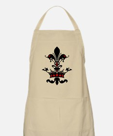 Valentine Crown BBQ Apron