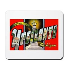 Ypsilanti Michigan Greetings Mousepad