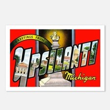 Ypsilanti Michigan Greetings Postcards (Package of