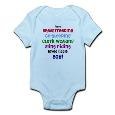 Loved little boy Infant Bodysuit