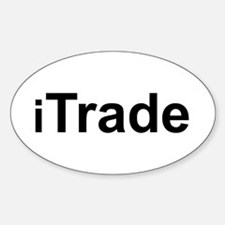 iTrade Oval Decal