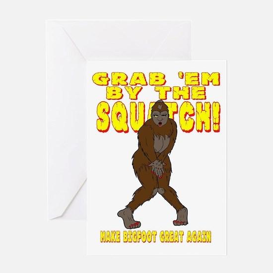 Unique Sasquatch Greeting Card