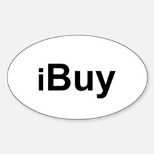 iBuy Oval Decal
