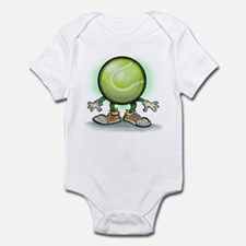 Cute Tennis match Infant Bodysuit