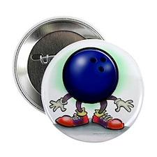 "Cute Bowling 2.25"" Button (10 pack)"
