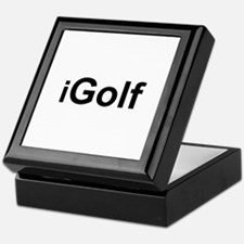 iGolf Keepsake Box