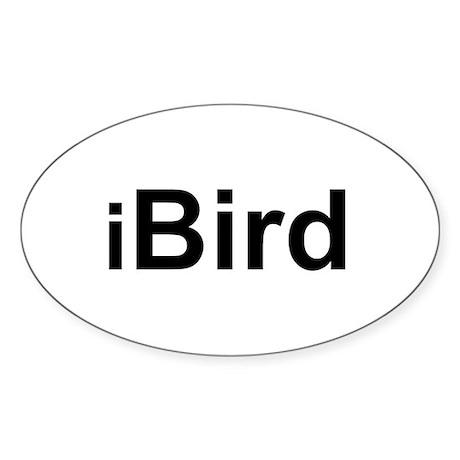 iBird Oval Sticker