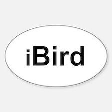 iBird Oval Stickers