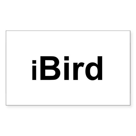 iBird Rectangle Sticker