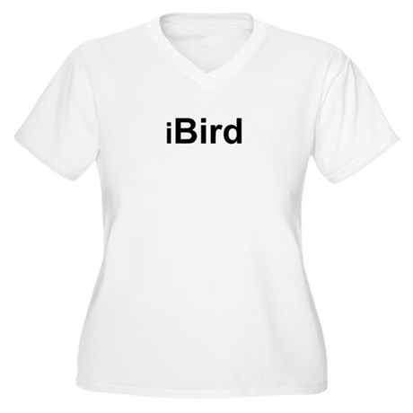 iBird Women's Plus Size V-Neck T-Shirt