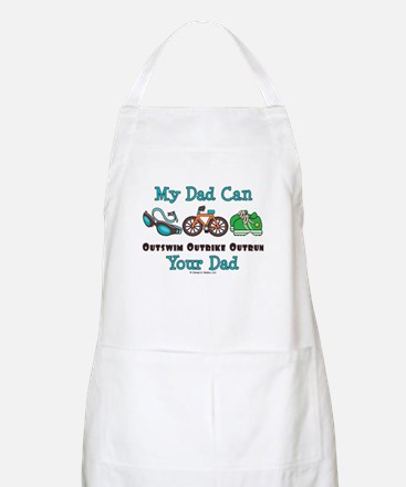 Dad Triathlete Triathlon BBQ Apron