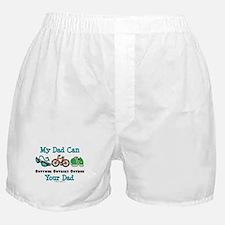 Dad Triathlete Triathlon Boxer Shorts