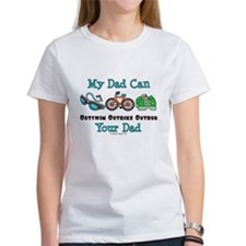 Dad Triathlete Triathlon Tee