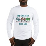 Dad Triathlete Triathlon Long Sleeve T-Shirt