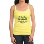 Dad Triathlete Triathlon Jr. Spaghetti Tank