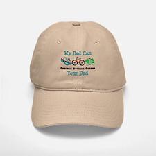Dad Triathlete Triathlon Baseball Baseball Cap