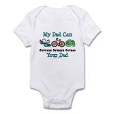 Dad Triathlete Triathlon Onesie