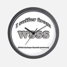 Welsh Springer Syndrome2 Wall Clock