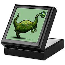 Cute Apatosaurus Keepsake Box