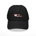 Happy Valentines Day Black Cap