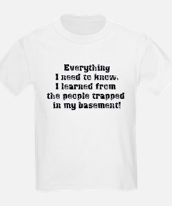 Everything I Need to Know T-Shirt